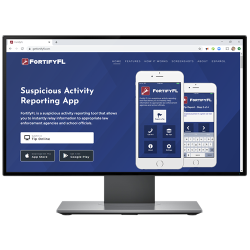 AppArmor Report - FortifyFL Marketing Website Image