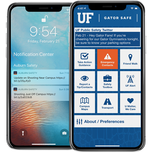 AppArmor University of Florida Gator Safe App Image