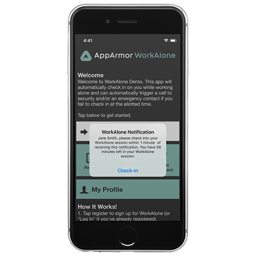AppArmor WorkAlone Image